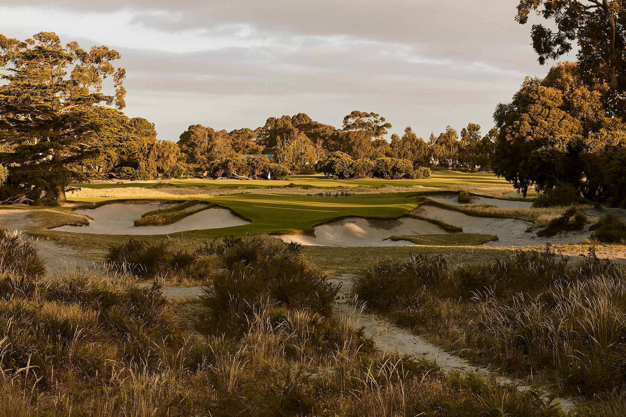 Kingston Heath Golf Club - Stephen Denton Photography, Los Angeles, California based interior & hospitality photographer